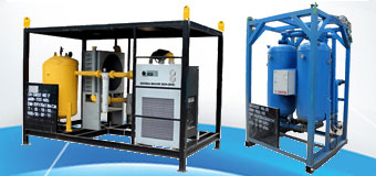 Refrigerant & Desiccant Air Dryer c/w Aftercooler