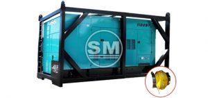 Denyo DCA-1100 Rig Safe