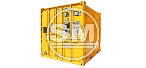 10-Footer DNV Closed Container Type A