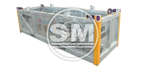 12-Footer DNV Basket / Open Top Tray