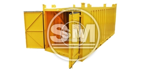 20-Footer Closed Top Container