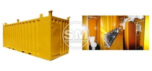 20-Footer Portable Toilet