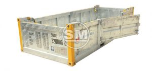 20-Footer DNV Half Height Basket c/w Swing Door