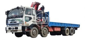 3, 10, 15 & 18 tonne Crane Lorry