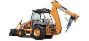 Hydraulic Breaker F6 C/W Backhoe Excavator Case 580m-2wd